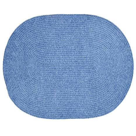 Chenille reversible braided rug 22 x 40 8238327 hsn for Home decorators chenille rug
