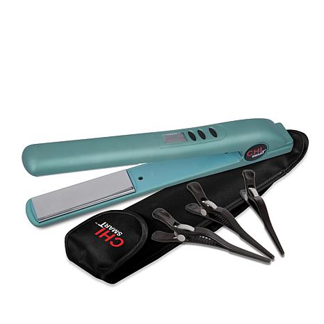 CHI Aqua Smart Titanium Hairstyling Iron with Clips and Bag
