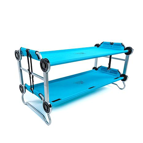 Children's 2pc 3-In-1  Bunk-Style Cots w/Storage Bags