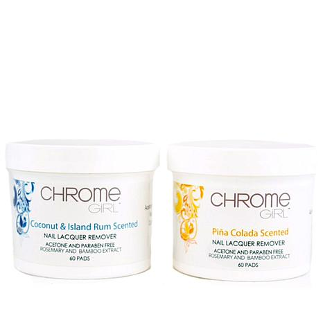 Chrome Girl 120ct Polish Remover Pads - Island Scents