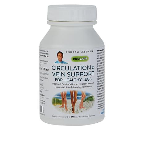 Circulation and Vein Support for Healthy Legs - 30 Capsules