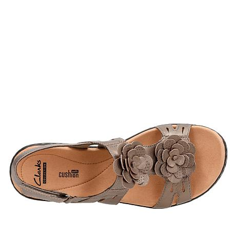 7b8546de085b Clarks Leisa Claytin Lightweight Leather Sandal - 8791685