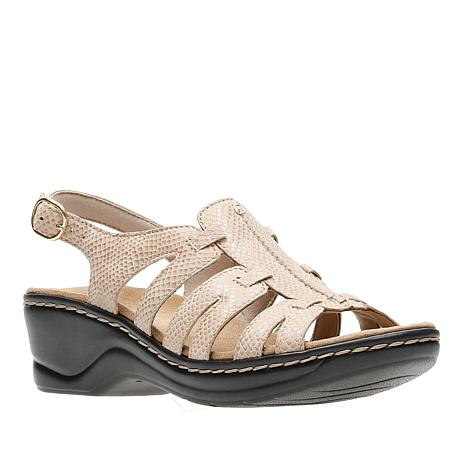 669f1f9f8cfe Clarks Lexi Marigold Lightweight Leather Sandal - 8794181
