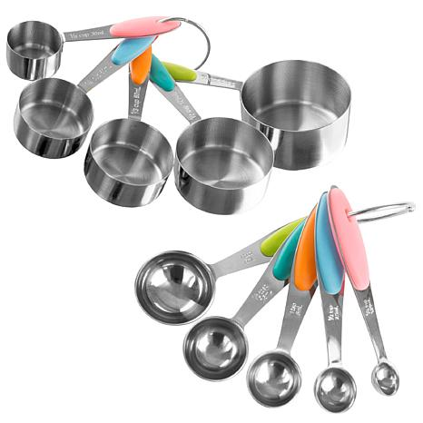 Classic Cuisine 10-piece Measuring Cups and Spoons Set