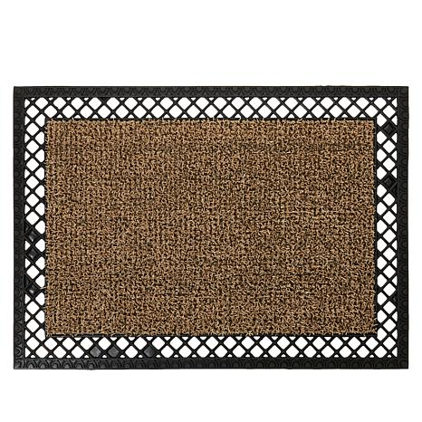 Clean Machine AstroTurf® Border Lattice Scraper Door Mat