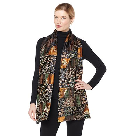 Clever Carriage Company Poet's Patchwork Scarf - Limited Quantity