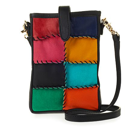 Clever Carriage Handwhipstitched Leather Crossbody