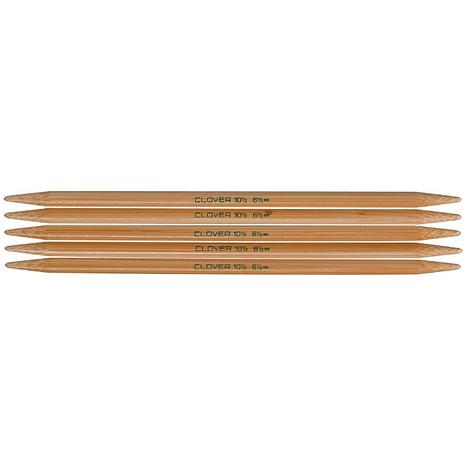 Clover Bamboo Double-Pointed Knitting Needles