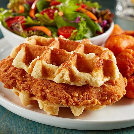 Coach Joe's 8-count Spicy Fried Chicken Waffle Stackers