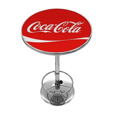 Delicieux Coca Cola Vintage Pub Table With Logo