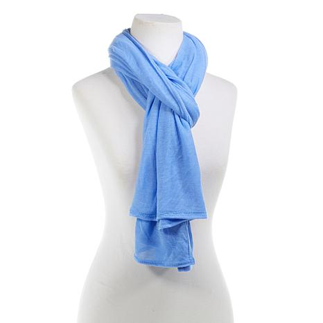 Collection 18 Travel Wrap Knit Scarf