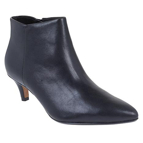 Collection by Clarks Linvale Sea Leather or Suede Bootie