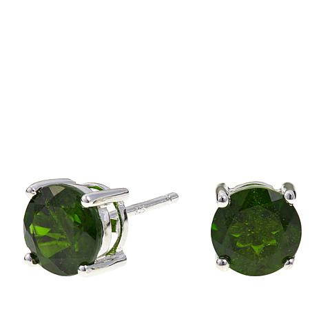 Colleen Lopez 2.75ctw Chrome Diopside Stud Earrings
