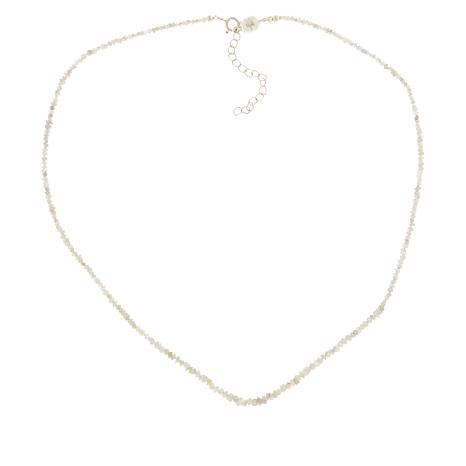 Colleen Lopez Sterling Silver Diamond Chip Necklace