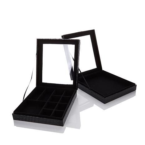 Colleen's Prestige™ 2-piece Croco-Embossed Box Set