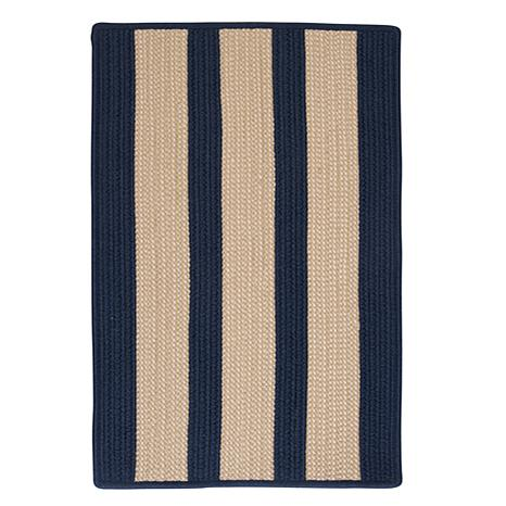 Colonial Mills Boat House 8' Square Rug - Navy
