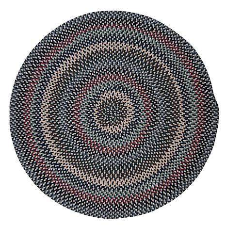 Colonial Mills Boston Common 8' Round Rug -Winter Blues
