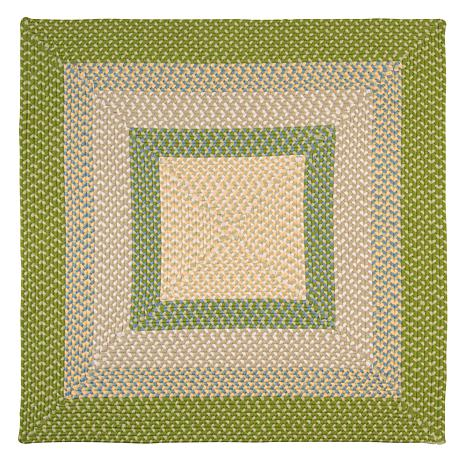 Colonial Mills Montego 8' Square Rug - Lime Twist