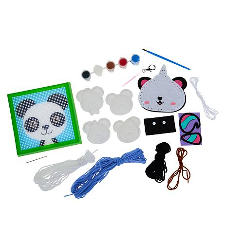 Colorbok Pandas and Bears Kids Crafting Bundle