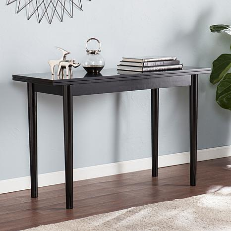 Southern enterprises colton flip top convertible console to dining table 8505198 hsn - Console table that converts to dining table ...