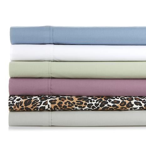 Concierge Collection 100% Cotton 4pc Sheet Set