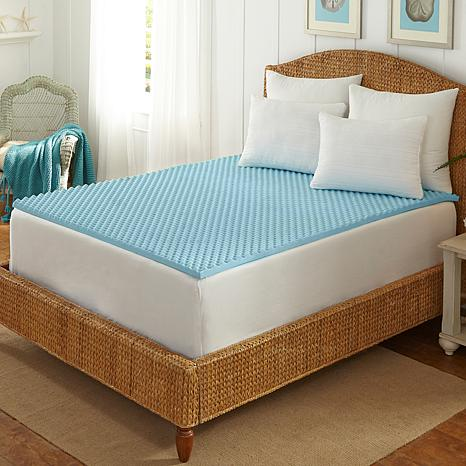 Concierge Collection Cool Blue Memory Foam Q