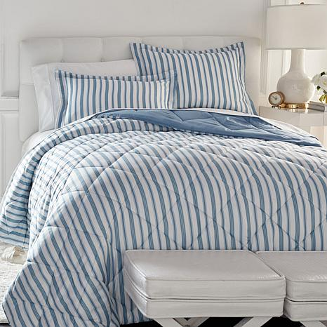 concierge collection elements 3 piece comforter set print
