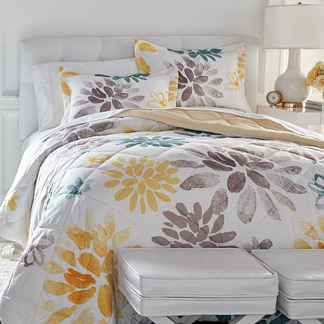 Concierge Collection Elements 3-piece Comforter Set - Print