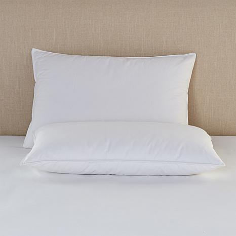 Concierge Collection Platinum No-Quill Feather Bed Pillows 2-pack - S