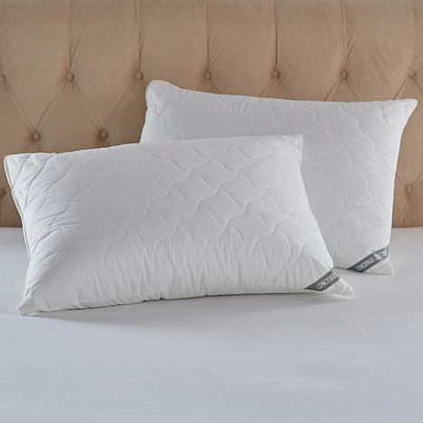 Concierge Collection Quilted Pillows 2-pack