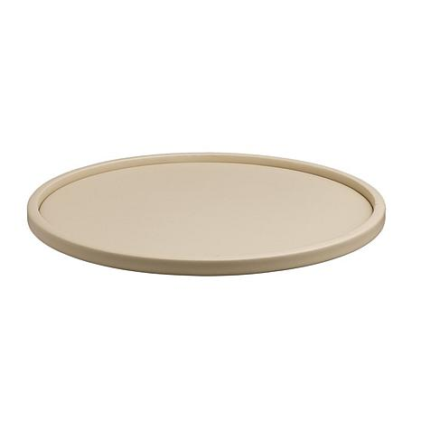 "Contempo 14"" Round Serving Tray With 1/2"" Rim"