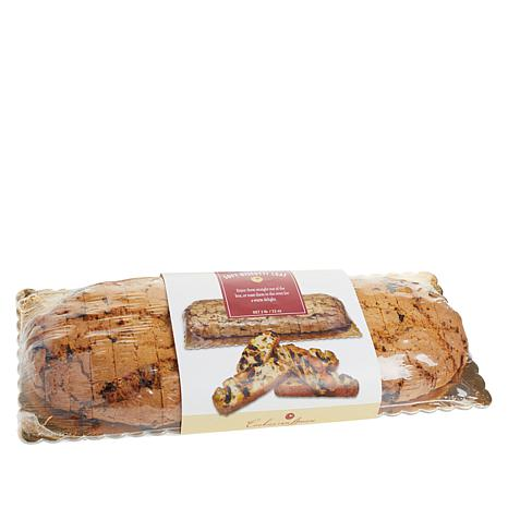 Cookies Con Amore 2lb Cherry Pistachio Biscotti Loaf