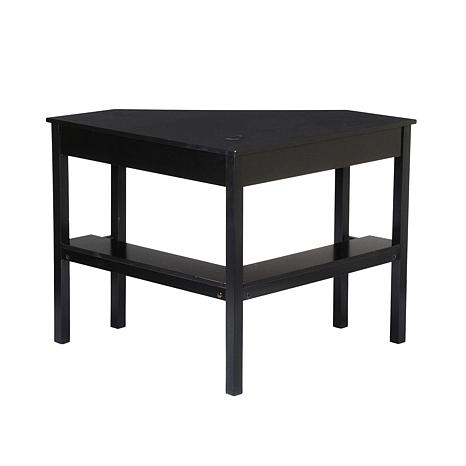 Corner Computer Desk Black Finish 6221914 Hsn