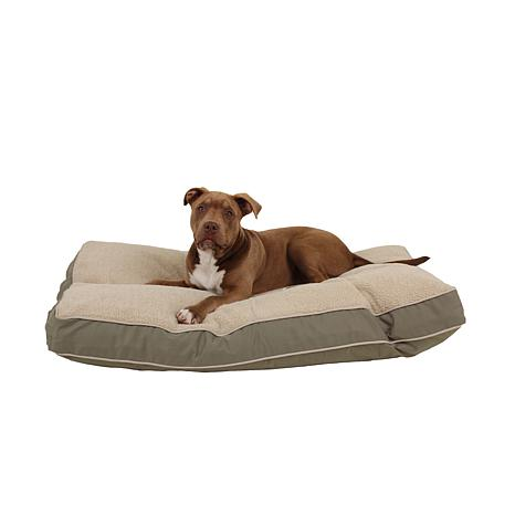 CPC Rectangle Pet Bed with Berber - Medium