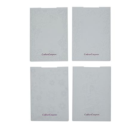 Crafter's Companion Classic Christmas 3D Embossing Folders Bundle