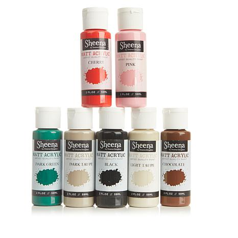Crafter's Companion Sheena Paint Fusion Essential Paints