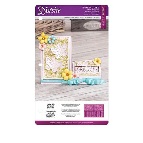 Crafters Companion Side Stepper Card Bundle 8375571 Hsn