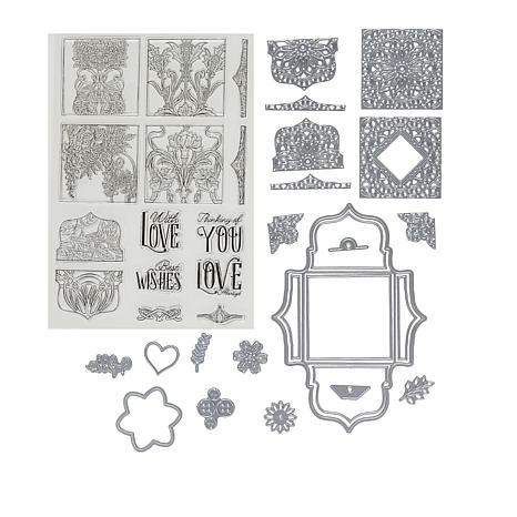 Crafter's Companion Small Ornamental Box Stamps and Dies