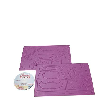 Crafter's Companion Sweet Treats Embossing Set w/CD-ROM