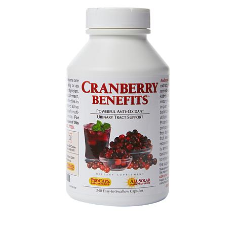 buy popular 522e6 915dc Cranberry Benefits - 240 Capsules - 6400975 | HSN