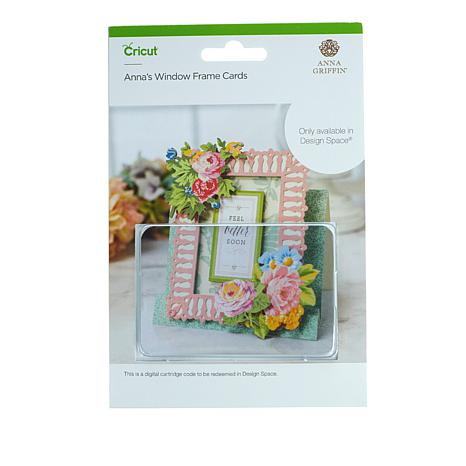 Cricut® Anna's Window Frame Card Digital Set