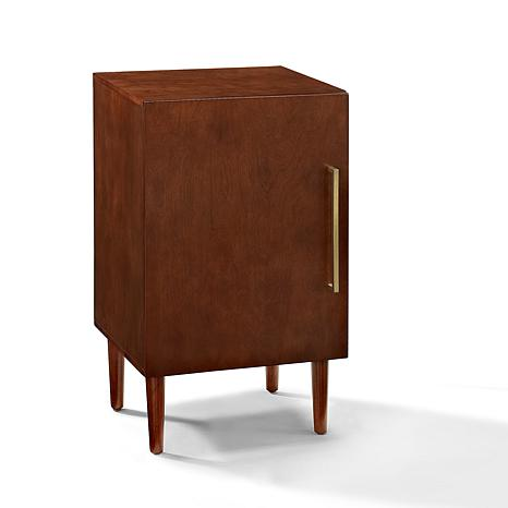 record player furniture hidden crosley furniture everett record player stand mahogany 8480705 hsn