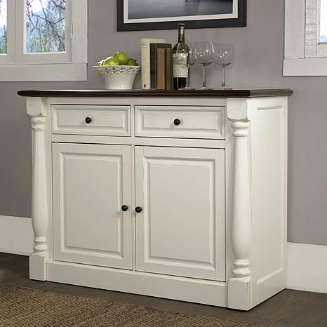 Crosley Furniture Shelby Buffet - White