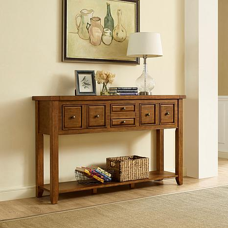 Crosley Furniture Sienna Entryway Table - Moroccan Pine