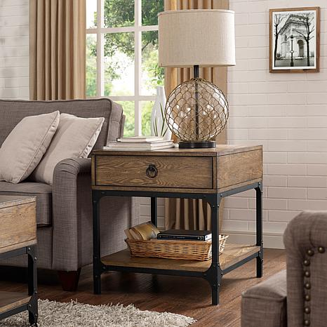 Crosley Furniture Trenton Side Table - Coffee