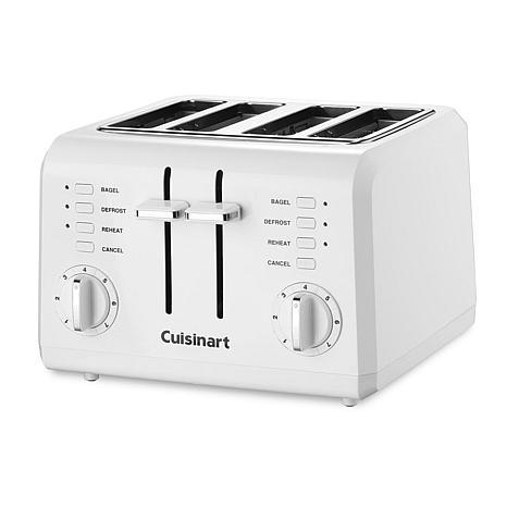 Cuisinart Compact 4 Slice Toaster Cuisinart 4-Slice Compact Toaster - 7210435 | HSN