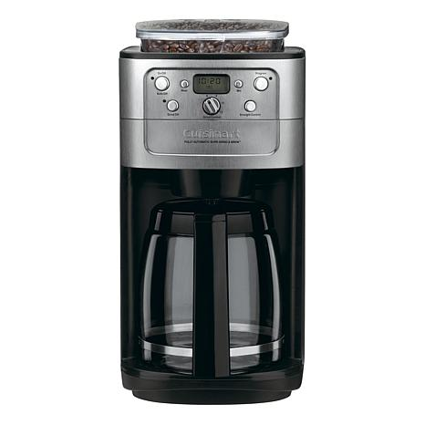 Cuisinart Automatic GrindandBrew 12Cup Coffee Maker 7215517 HSN