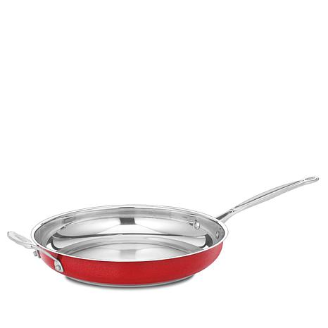 "Cuisinart Chef's Classic 12"" Red Skillet"