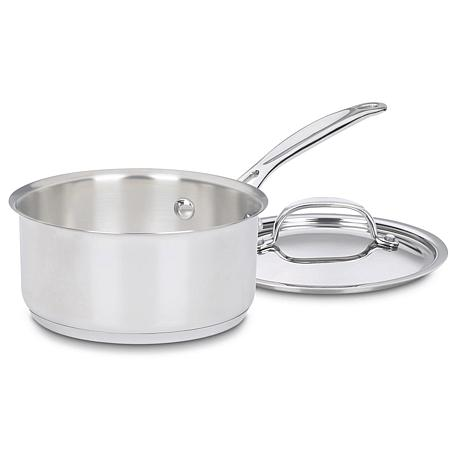 Cuisinart Chef's Classic Stainless 1-quart Saucepan with Cover