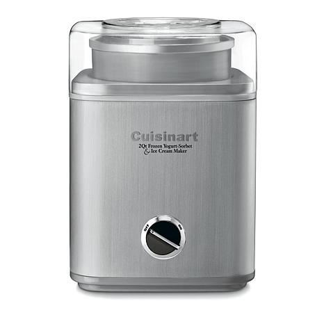 Cuisinart Pure Indulgence 2 qt. Frozen Yogurt-Sorbet & Ice Cream Maker